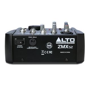 Alto Zephyr ZMX52 5 Channel Compact Mixer