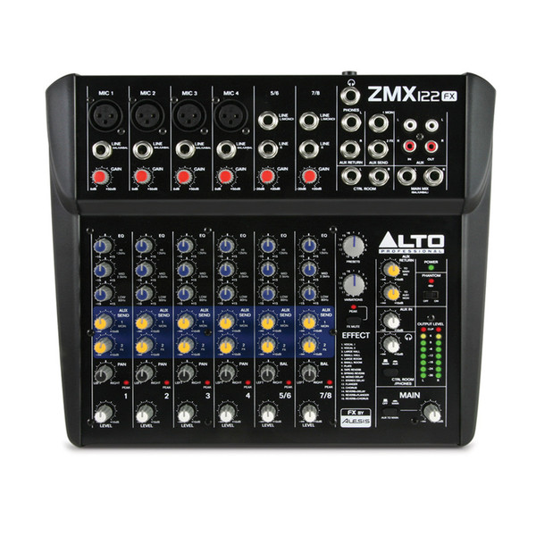 Alto Zephyr ZMX122FX 8 Channel Compact DSP Mixer