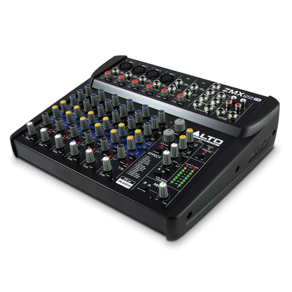 alto zephyr zmx122fx 8 channel compact dsp mixer at gear4music. Black Bedroom Furniture Sets. Home Design Ideas