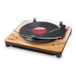 ION Classic LP USB Turntable, Wood