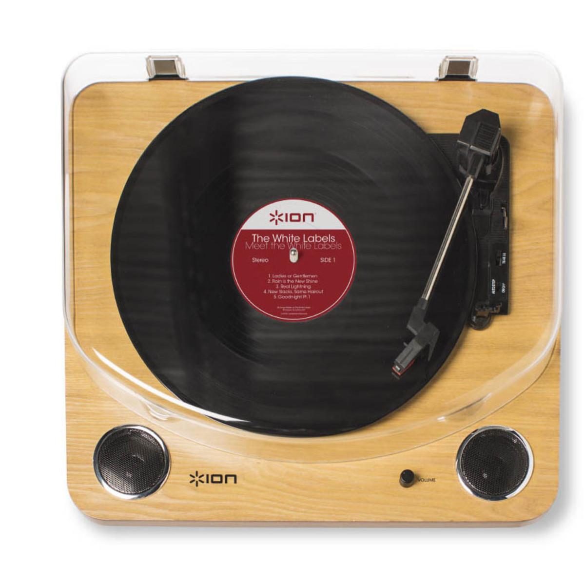 ion max lp usb platine vinyle avec haut parleurs int gr s. Black Bedroom Furniture Sets. Home Design Ideas