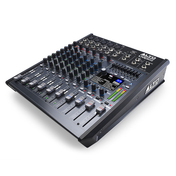 Alto Live 802 8 Channel USB Mixer with DSP