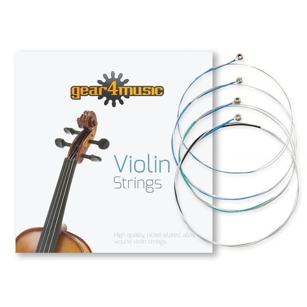 Student Plus 3/4 Violin, Antique Fade + Accessory Pack by Gear4Music