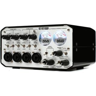 AKAI EIE Pro Audio/MIDI Interface with USB Hub, Silver
