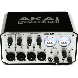 AKAI EIE Pro Audio/MIDI Interface with USB Hub, Silver