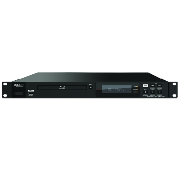 denon dn 500bd rackmount blu ray player at gear4music. Black Bedroom Furniture Sets. Home Design Ideas