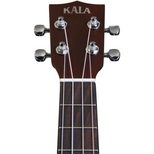Kala KA-RES-CHR Chrome Plate Resonator Tenor Ukulele, Sunburst Satin