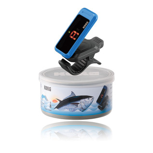 Korg Pitchclip Canned Tuner, Blue