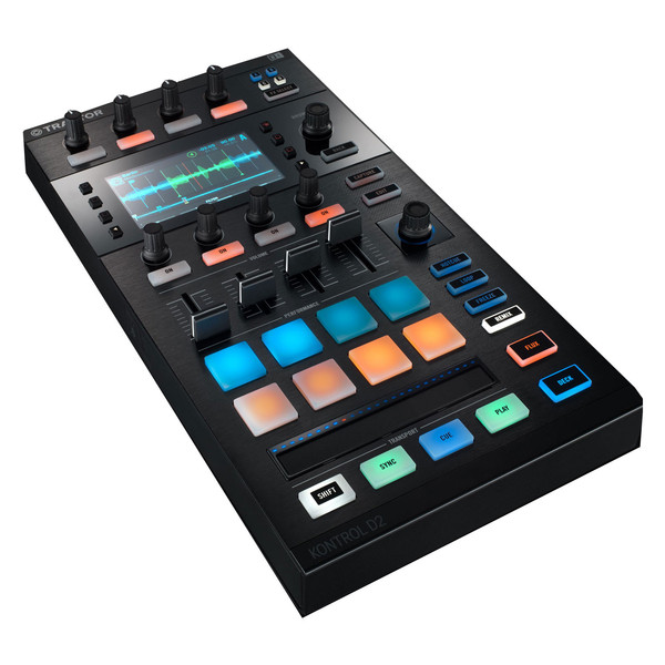 Native Instruments Traktor D2 Controller Module with Visual Display