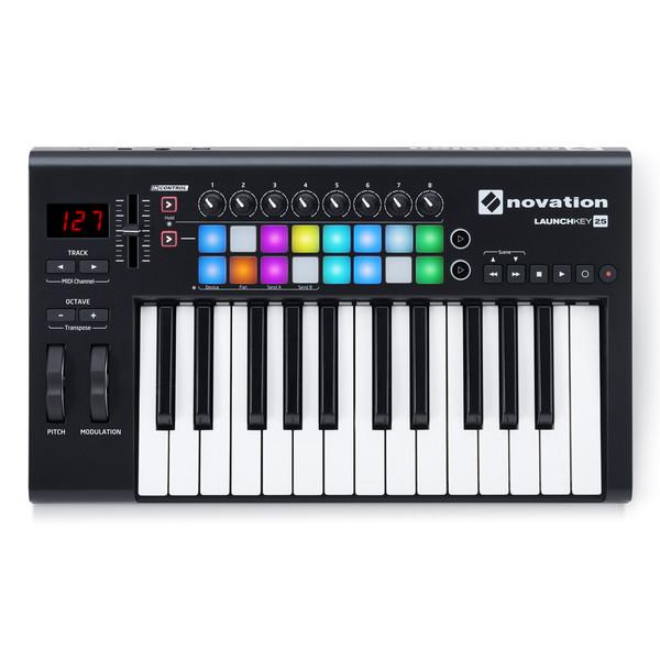 LaunchKey 25 MK2 MIDI Controller Keyboard