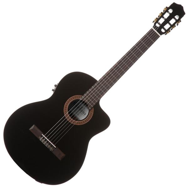 Cordoba Iberia C5-CETBK Classical Electro Thinbody Guitar, Black