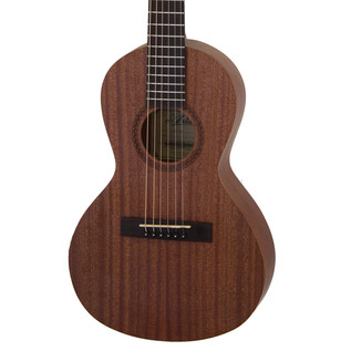 Aria ASA 18H Parlour Mini Acoustic Guitar, Natural