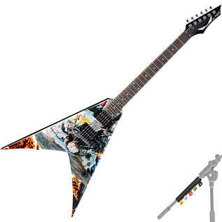 Dean Dave Mustaine Signature V Electric Guitar, United Abomination