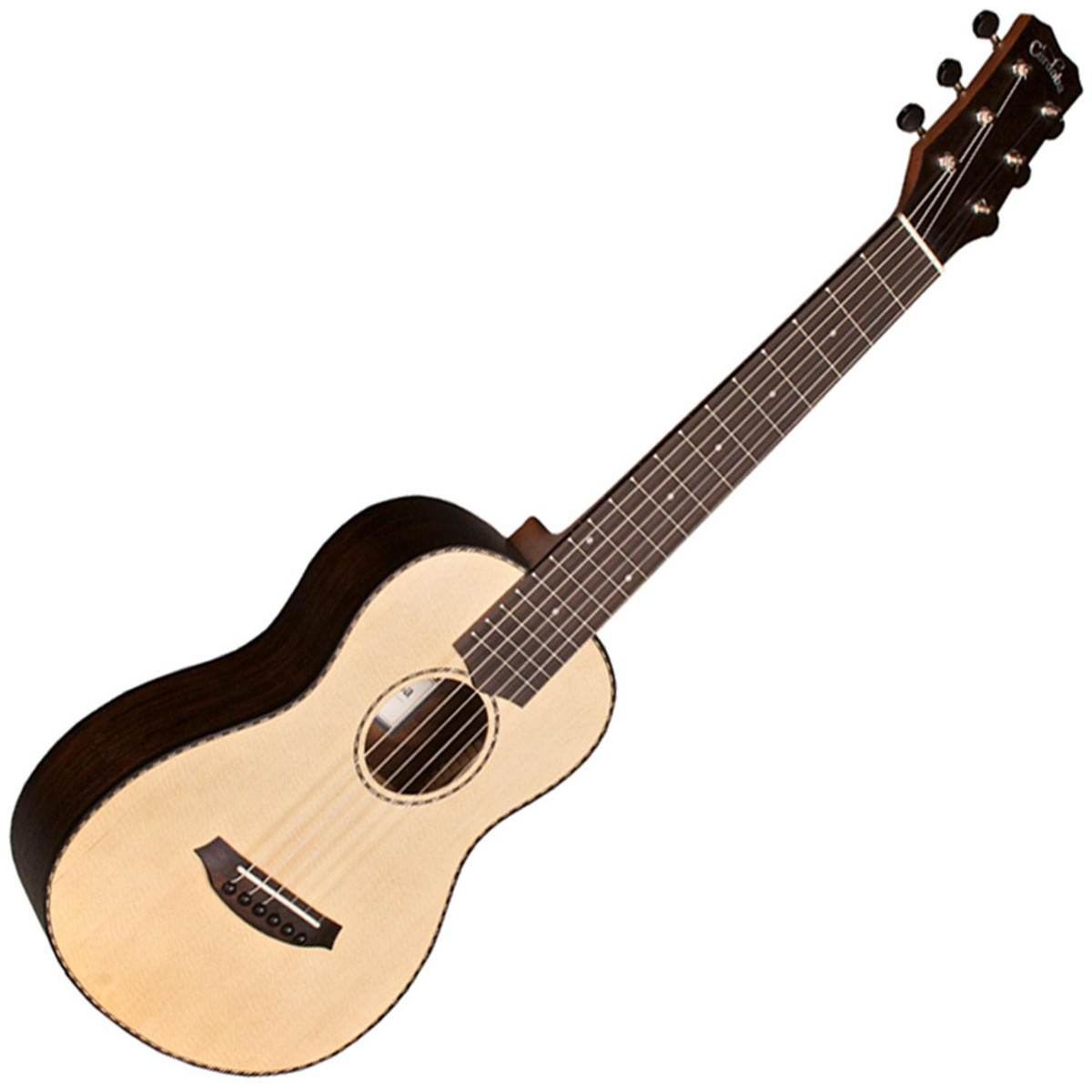 cordoba mini r acoustic travel guitar spruce top at gear4music. Black Bedroom Furniture Sets. Home Design Ideas
