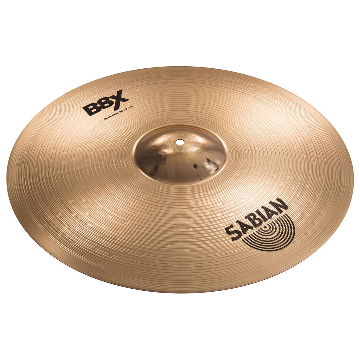 sabian b8x 21 39 39 rock ride cymbal at gear4music. Black Bedroom Furniture Sets. Home Design Ideas