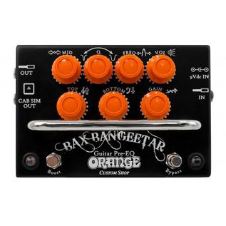 Orange BAX Bangeetar Guitar Pre-EQ Pedal, Black