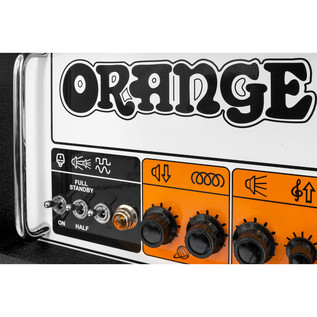 Orange Rockerverb MKIII 100W Twin Channel Guitar Amp Head, Black