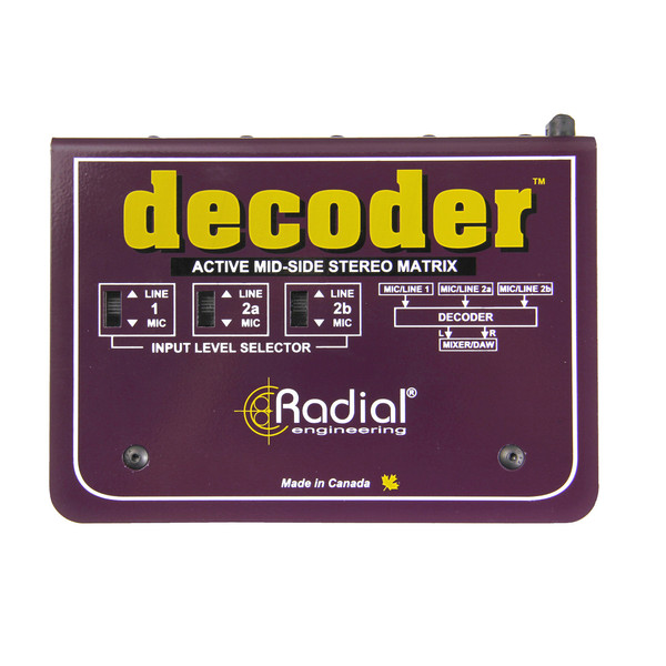 RadialDecoder Self Contained MS Interface