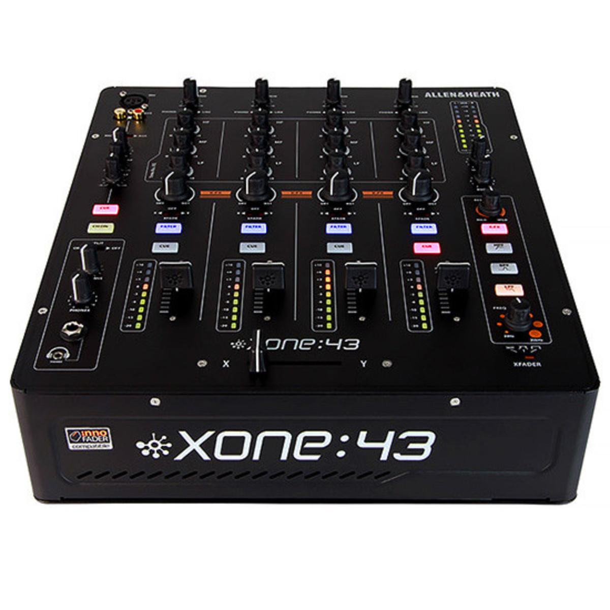 table de mixage dj analogique