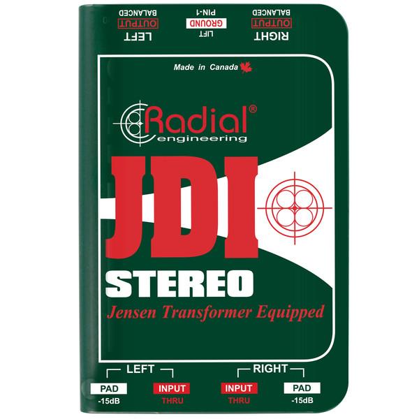 RadialJDI Stereo Passive Direct Box