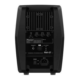 Pioneer RM-07 Professional Studio Monitor, Rear