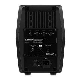 Pioneer RM-05 Professional Active Studio Monitor, Rear