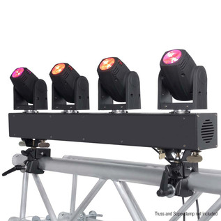 Cameo Hydrabeam 400 RGBW - Bar with 4 LED Moving Heads