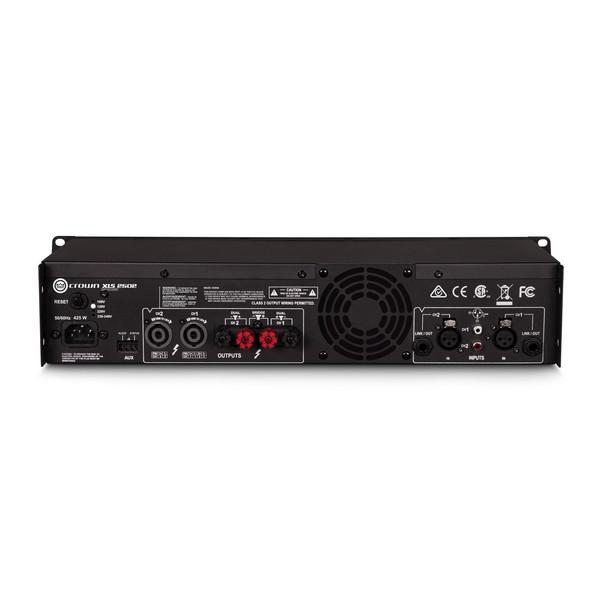 Crown XLS-2502 DriveCore 2 775W Stereo Power Amplifier Rear