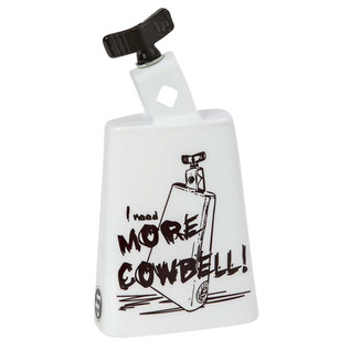 Latin Percussion Cow Bell Collect-A-Bells Black Beauty More Cowbell