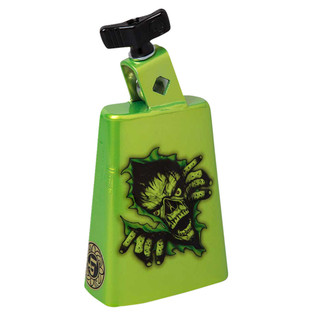 Latin Percussion Cow Bell Collect-A-Bells Black Beauty Zombie Green