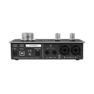 Audient iD14 Audio Interface with Burr-Brown AD Converters