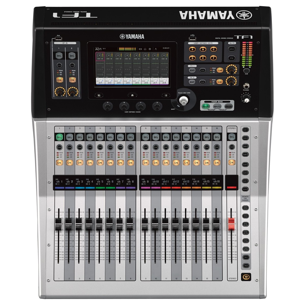 yamaha touchflow tf1 16 channel digital mixer at gear4music. Black Bedroom Furniture Sets. Home Design Ideas