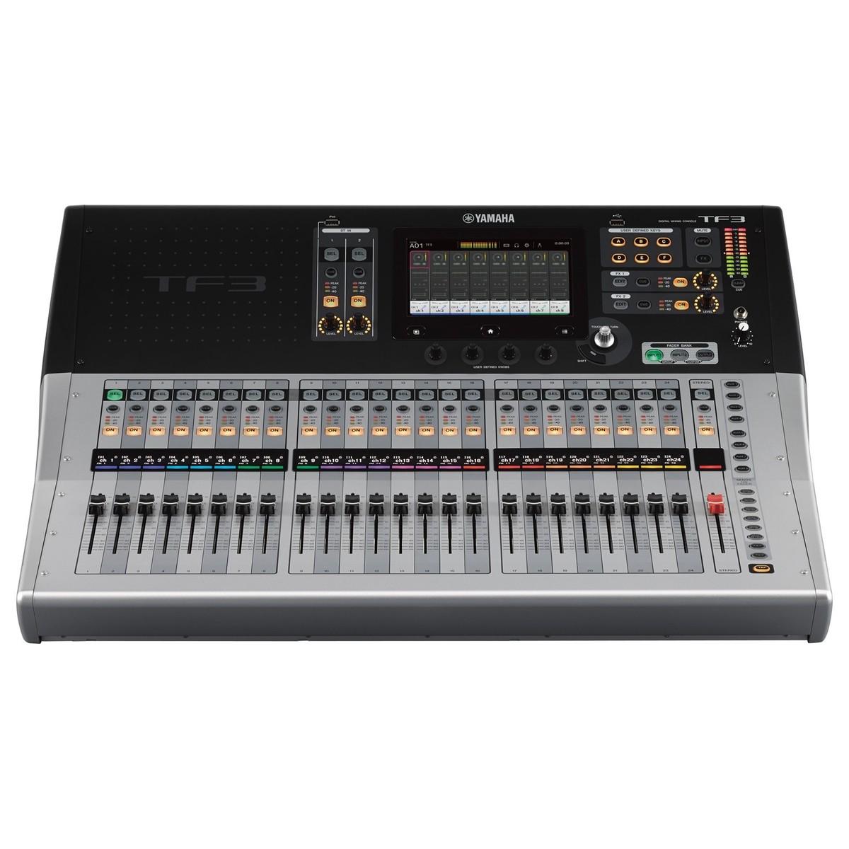 Yamaha touchflow tf3 console de mixage num rique 24 - Table de mixage numerique yamaha ...