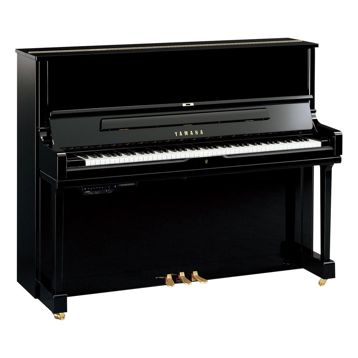 Yamaha TransAcoustic YUS1TA Pianoforte verticale ibrido a ...