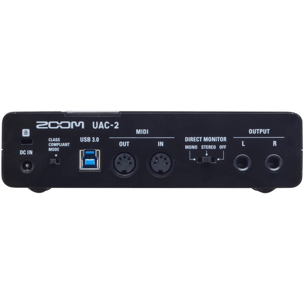 Zoom UAC-2 2-In/2-Out USB 3 0 Audio Interface