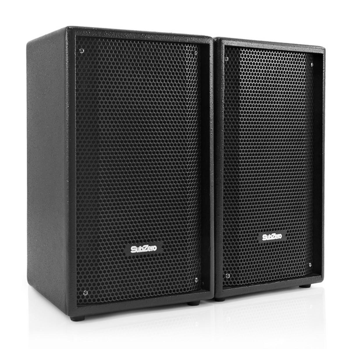 Subzero 8 Passive Satelliten Lautsprecher Von Gear4music Paar