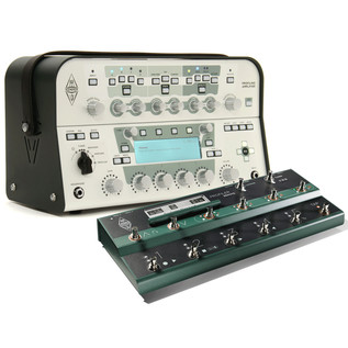 Kemper Profiler Head, White + Kemper Profiler Remote Bundle