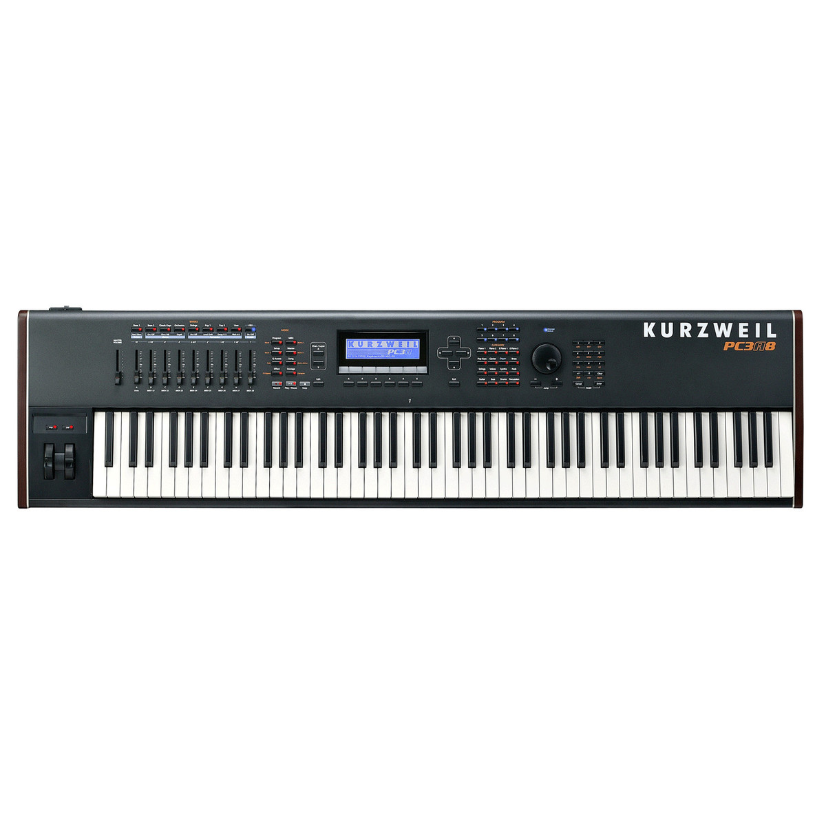 Kurzweil pc3a8 controller keyboard at gear4music for Yamaha p120 price