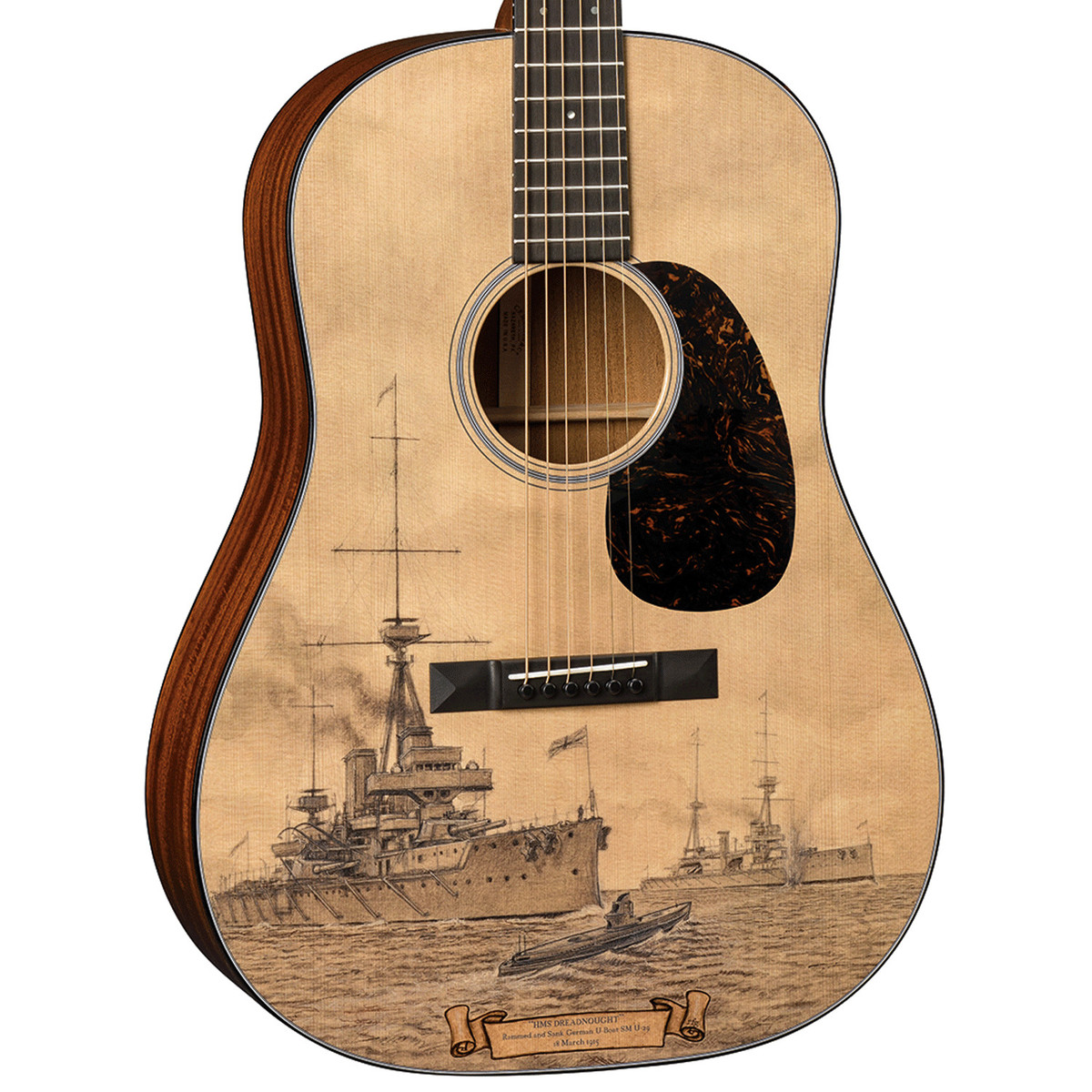 disc martin le hmsd 2015 hms dreadnought limited edition at gear4music. Black Bedroom Furniture Sets. Home Design Ideas