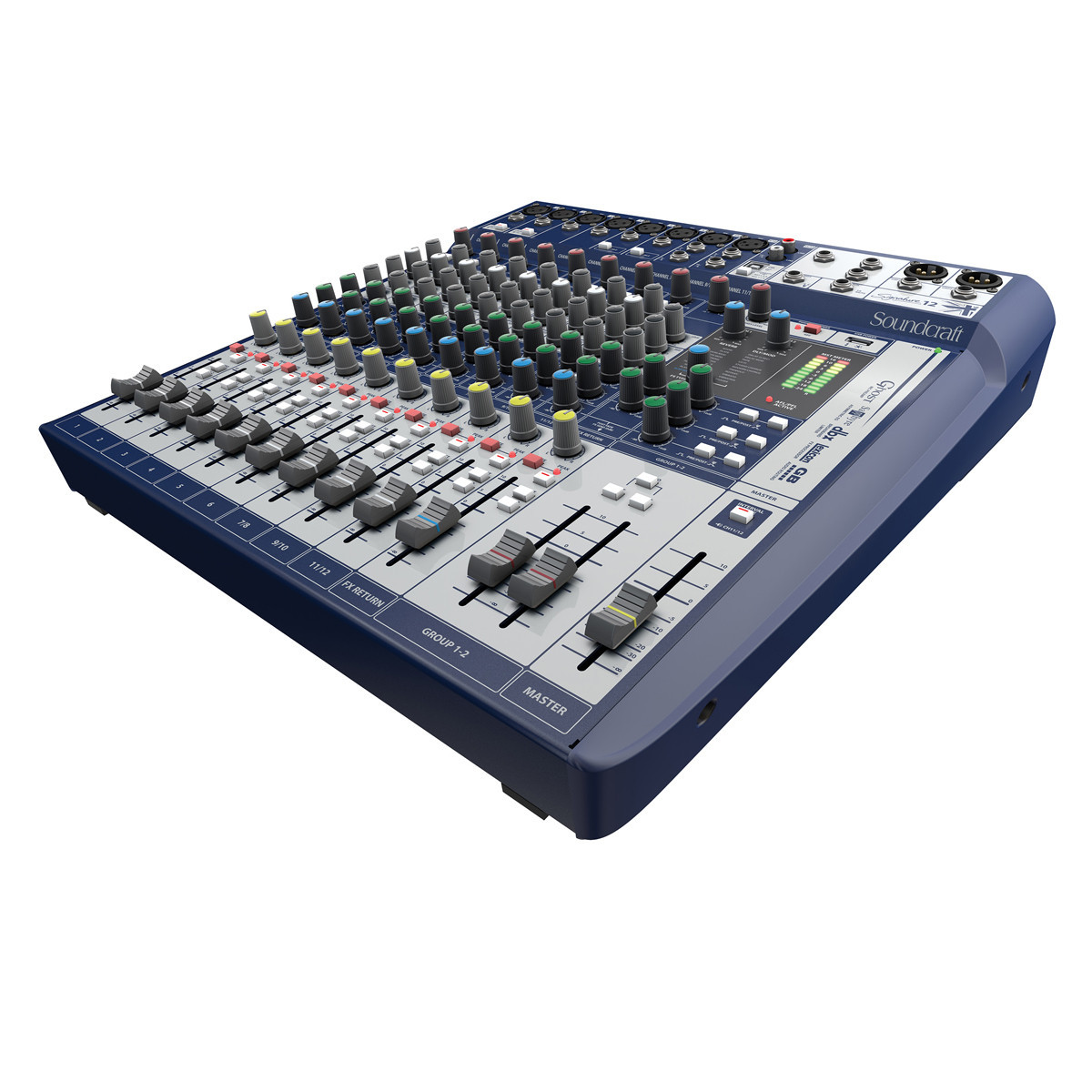 Soundcraft Signature 12 Analogue Mixer with USB and FX