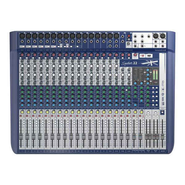 Soundcraft Signature 22 Analog Mixer