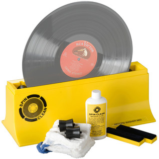 Spin Clean Vinyl Cleaning System