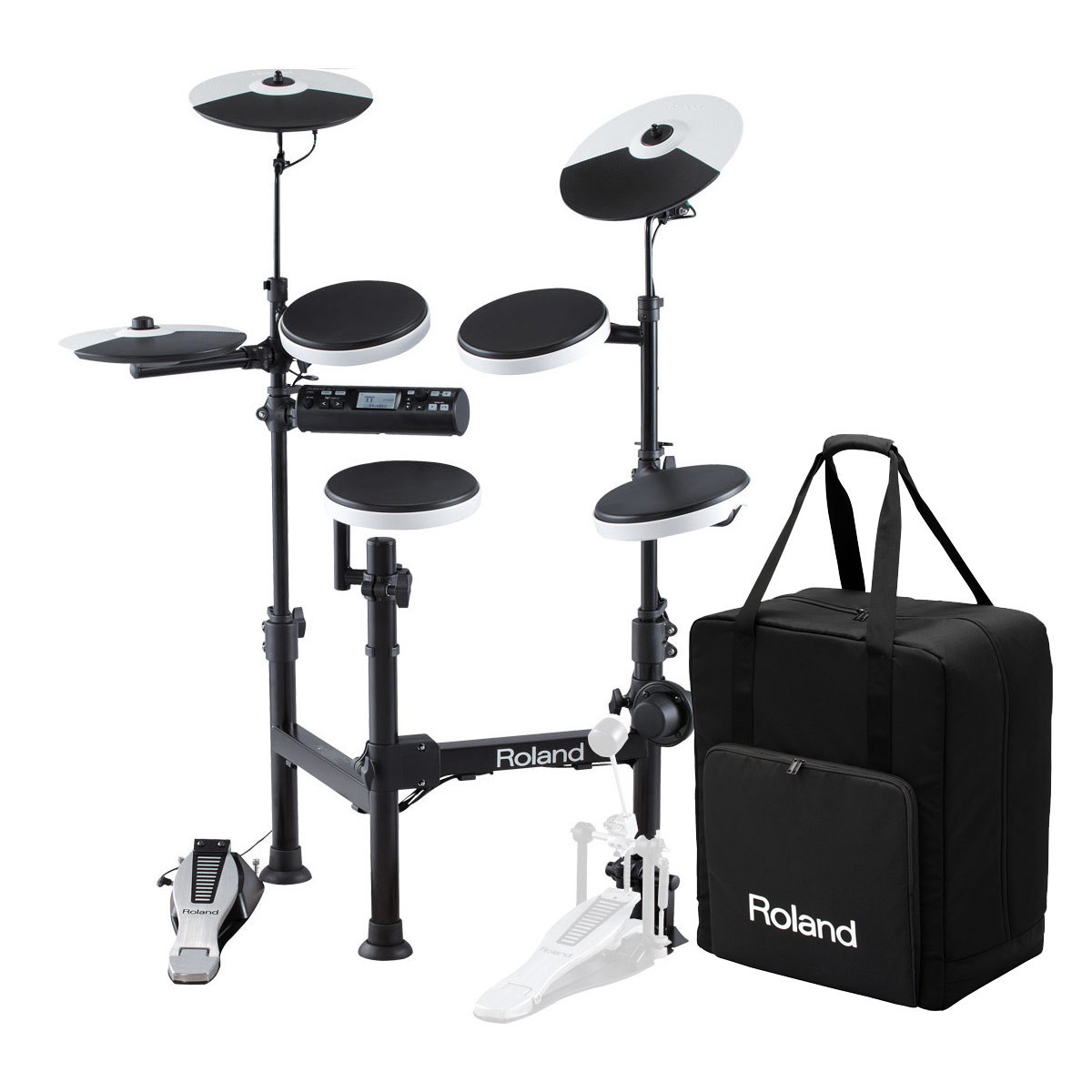 roland td 4kp v drums portable electronic drum kit carry case at rh gear4music no Roland TD 4 Drum Set roland td-4 service manual