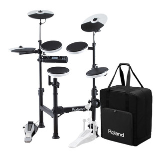 Roland TD-4KP V-Drums Portable Electronic Drum Kit + Carry Case