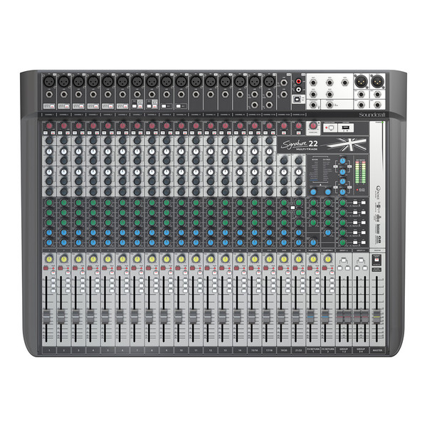Soundcraft Signature 22 MTK Analog Mixer with USB