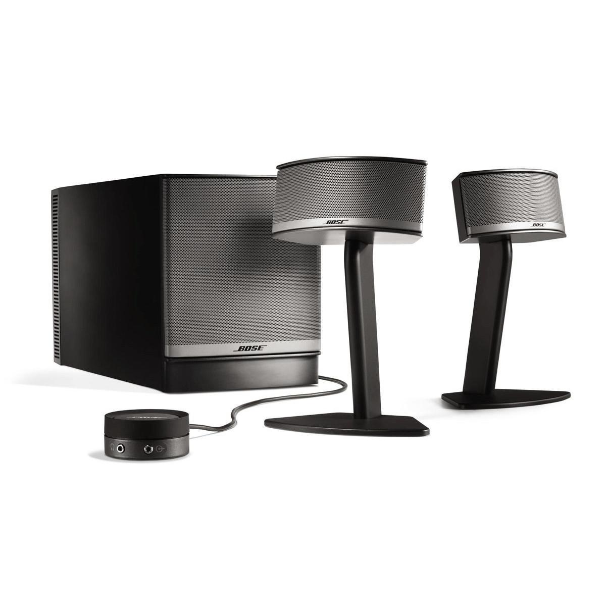 Companion Connecte: DISC Bose Companion 5 Multimedia Speaker System, Graphite