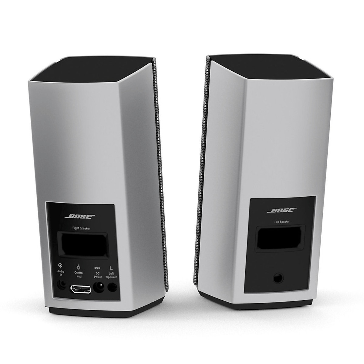 Bose Companion 20 Multimedia Speaker System, Silver at ...