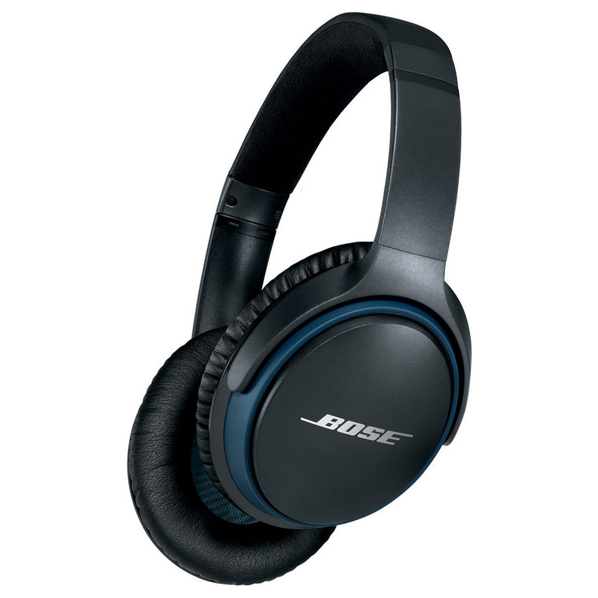 bose soundlink around ear bluetooth headphones black gear4music. Black Bedroom Furniture Sets. Home Design Ideas