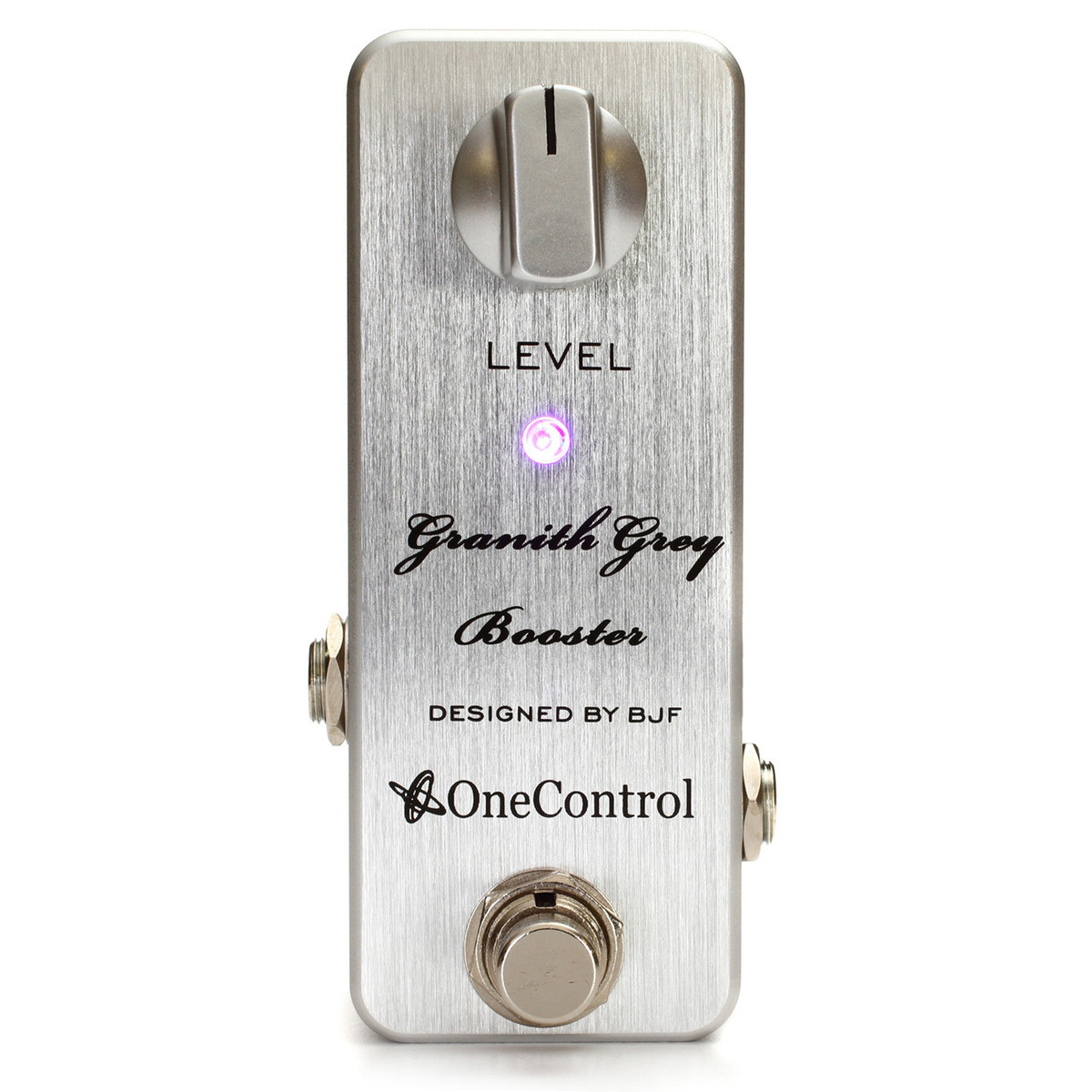 one control granith grey booster guitar pedal at gear4music. Black Bedroom Furniture Sets. Home Design Ideas