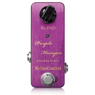 One Control Purple Humper Midrange Boost Guitar Effects Pedal